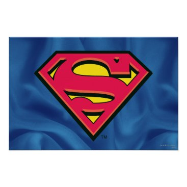 Superman S-Shield | Classic Logo Poster