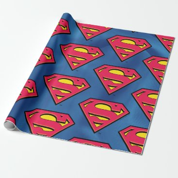 Superman S-Shield | Classic Logo Wrapping Paper