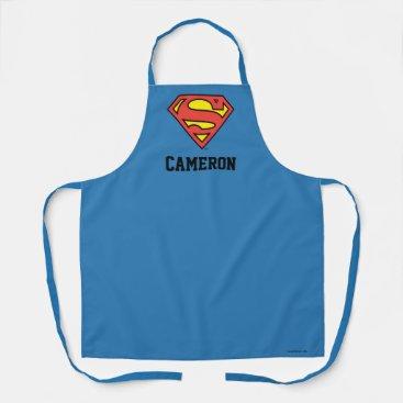 Superman S-Shield   Superman Logo Apron
