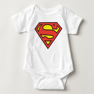 Superman S-Shield | Superman Logo Baby Bodysuit