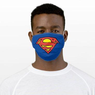 Superman S-Shield | Superman Logo Cloth Face Mask