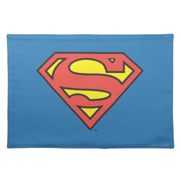 Superman S-Shield | Superman Logo Cloth Placemat