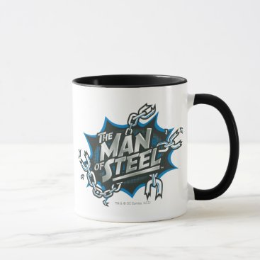 Superman Stylized | Man of Steel Splash Logo Mug