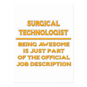 Scrub Tech Postcards | Zazzle
