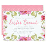 Sweet Blossoms Easter Brunch Invitation