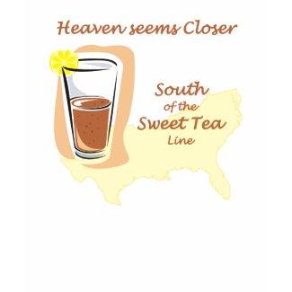 Sweet Tea Line Women's T-Shirt shirt