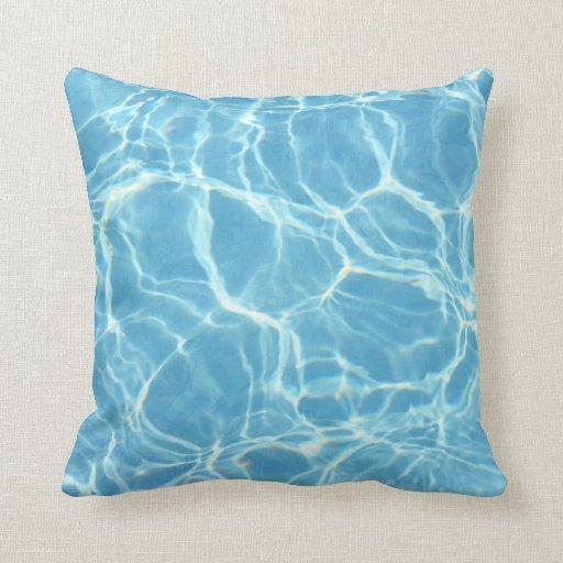 Swimming Pool Water Pillow  Zazzle
