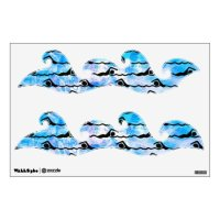 SWIMMING Wall Decal | Zazzle