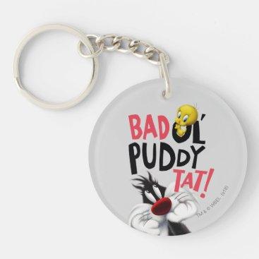SYLVESTER™ & TWEETY™- Bad Ol' Puddy Tat Keychain