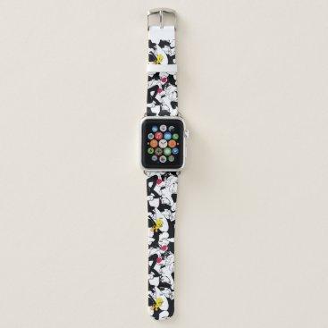 SYLVESTER™ & TWEETY™ Pattern Apple Watch Band
