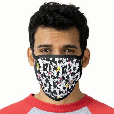 SYLVESTER™ & TWEETY™ Pattern Face Mask