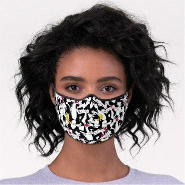 SYLVESTER™ & TWEETY™ Pattern Premium Face Mask