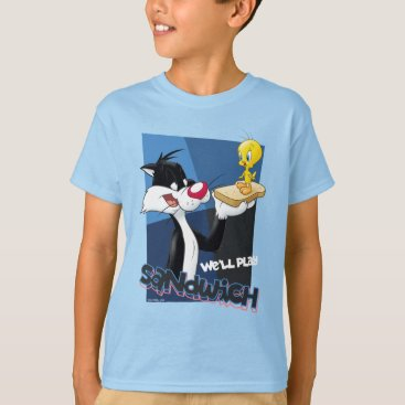 "SYLVESTER™ & TWEETY™ ""We'll Play Sandwich"" T-Shirt"