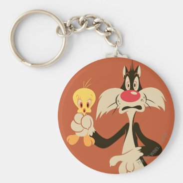 SYLVESTER™ with TWEETY™ Keychain