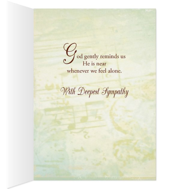 Sympathy Angel Christian Religious Scripture Card Zazzle
