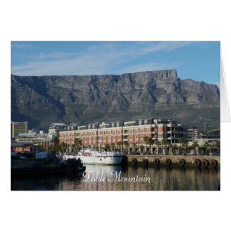 Table Mountain Card