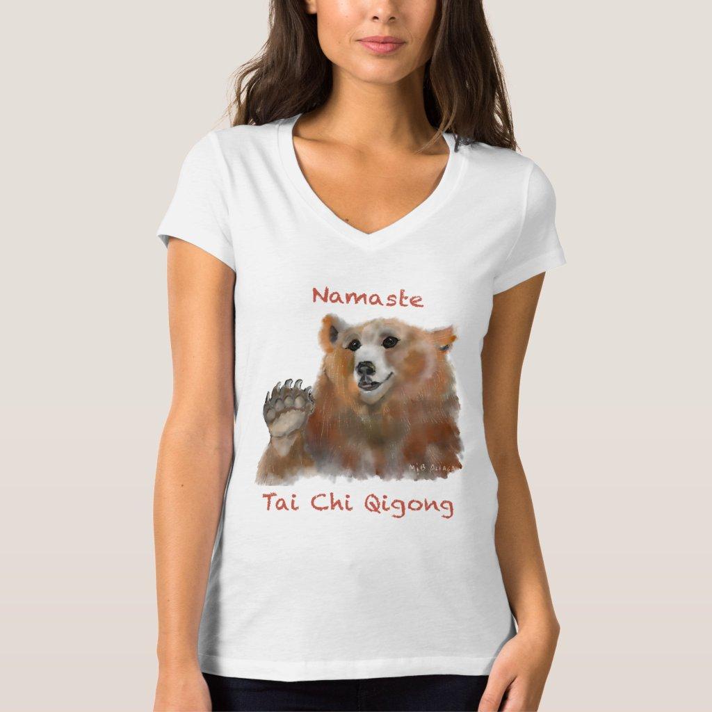 Tai Chi Qigong Bear Women's Shirt