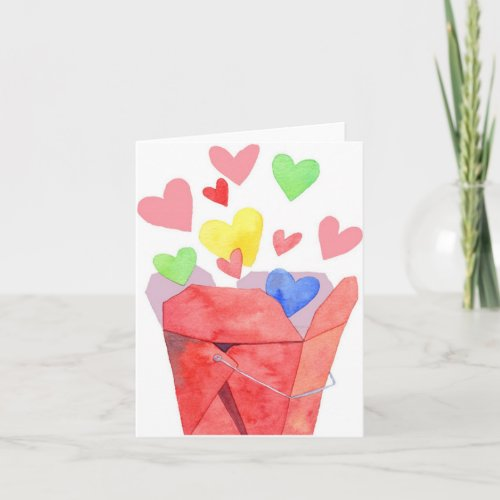 Take Out Love - Note Card