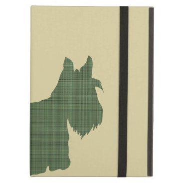 Tartan Scottie iPad Air Cover