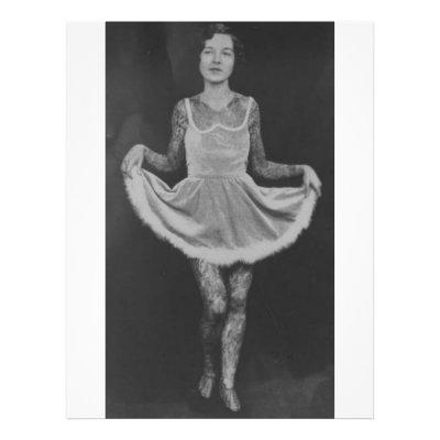 Tattooed woman - 1920 flyers by spyderfyngers