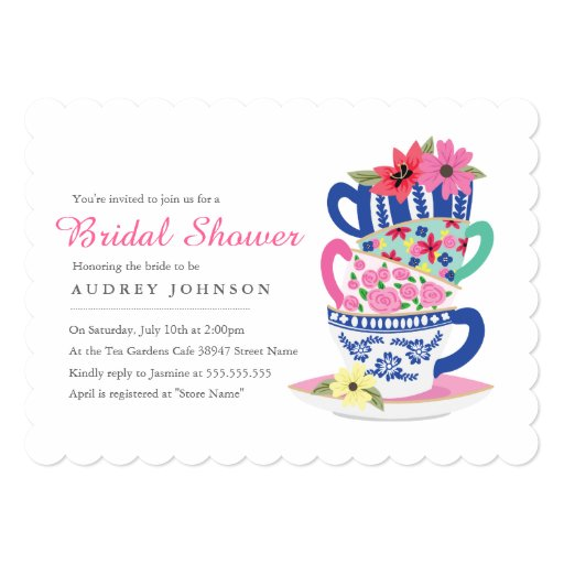 Bridal Shower Invitations Nz