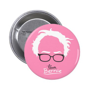Team Bernie Pink - Bernie Sanders 2016 Button