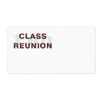 High School Reunion Shipping, Address, & Return Address