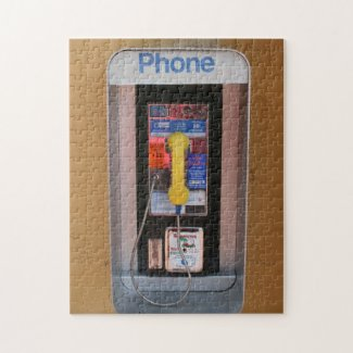 Telephone Booth / Public Payphone Puzzle