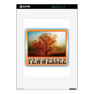 Tennessee Fall Tree Scene iPad Decal