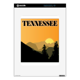 Tennessee Mountains Decal For The iPad