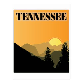 Tennessee Mountains Postcard