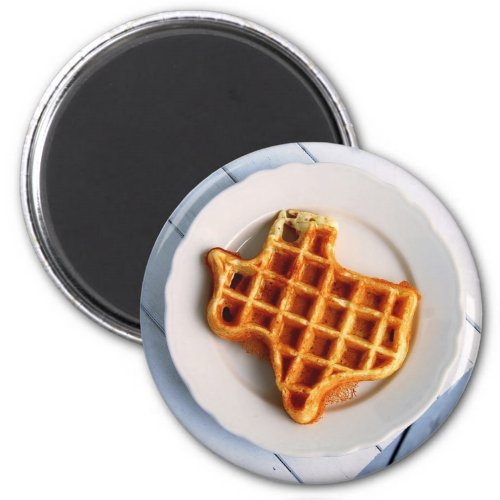 Texas Waffle magnet