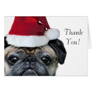 Pug Thank You Cards Zazzle