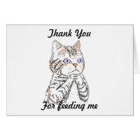 Thank you -looking after cat card
