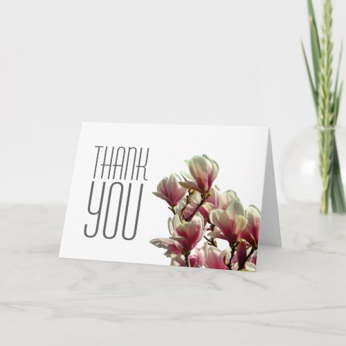 Thank You Magnolia Professional Modern Plain