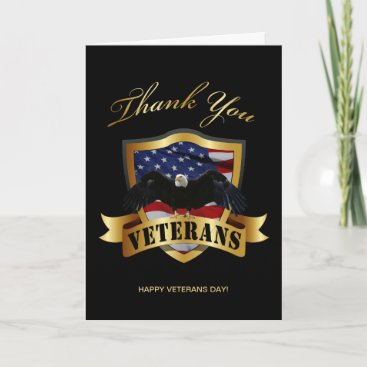 Thank You Veterans Card