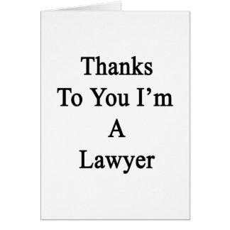 Thank You Lawyer Cards, Thank You Lawyer Card Templates