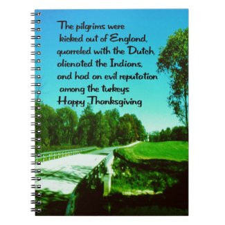 Thanksgiving Note Books