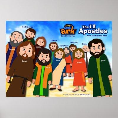12 Apostles Posters