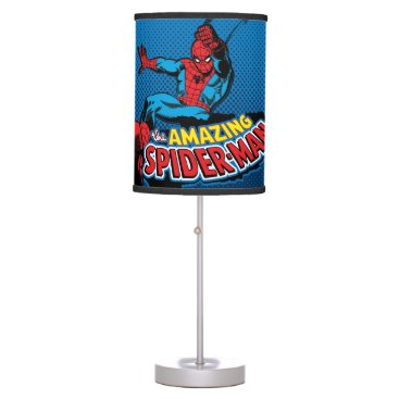 The Amazing Spider-Man Logo Table Lamp