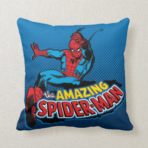 the amazing spiderman pillows