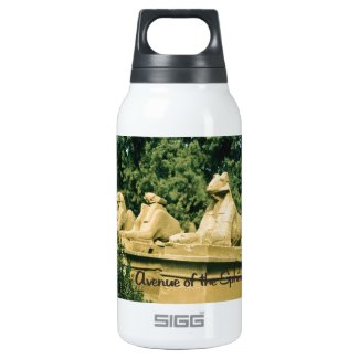 The Avenue of the sphinx 10 Oz Insulated SIGG Thermos Water Bottle