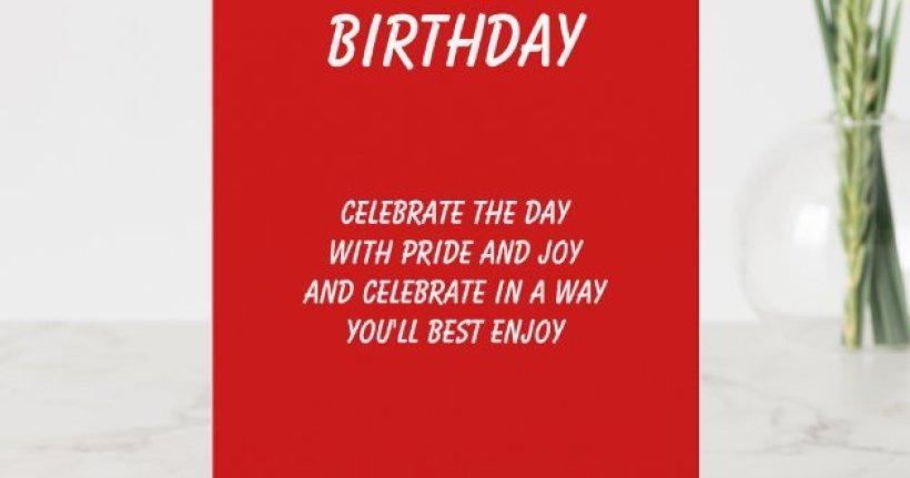 The Best In Everything Ex Boyfriend Birthday Cards Zazzle Com