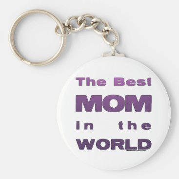 The Best Mom in the World Keychain