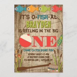 the big one invitations zazzle