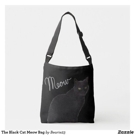 The Black Cat Meow Bag