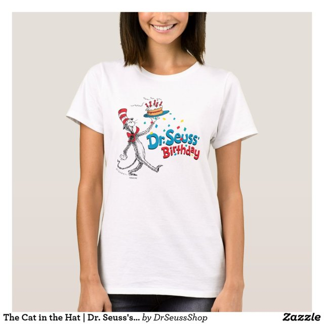 The Cat in the Hat | Dr. Seuss's Birthday T-Shirt