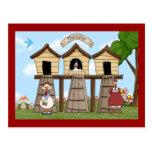 The Chicken Coop Postcard