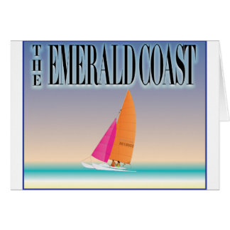 The Emerald Coast Greeting Card