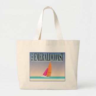 The Emerald Coast Tote Bags